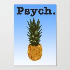 Psych Canvas Print