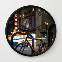 Going on a Ride Wall Clock