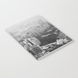 The Cityscape (Black and White) Notebook