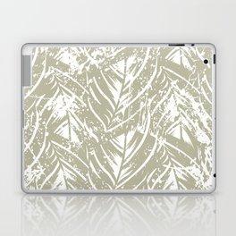 Jungle print with silhouette of paradise island foliage Laptop & iPad Skin