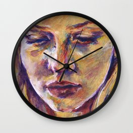 Portrait study III Wall Clock
