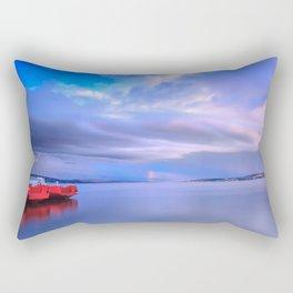 Smooth Evening Rectangular Pillow