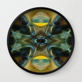 Tarot card  XVIII - The  Moon Wall Clock