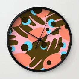 Khaky Tropics Wall Clock