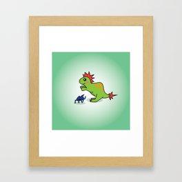 Gobi (and Bugsy) Framed Art Print