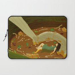 Hot and Sour Soup Laptop Sleeve