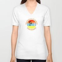 hawaii V-neck T-shirts featuring Hawaii by lescapricesdefilles