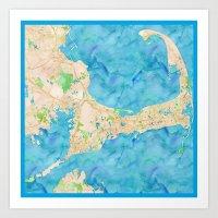 cape cod Art Prints featuring Cape Cod by Cityette