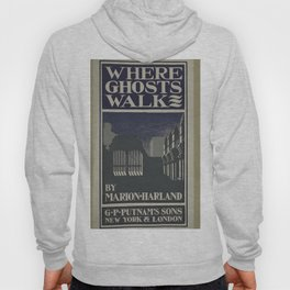 Vintage Posters 212 Where ghosts walk Hoody