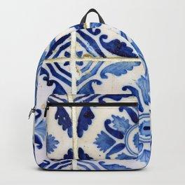 Portuguese tile 3 Backpack