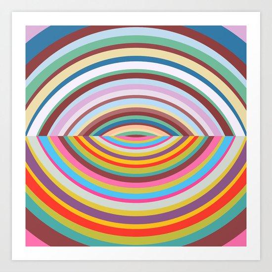 Shapes #41 Art Print