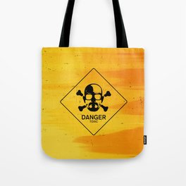 Breaking Heisenberg Danger Sign Tote Bag