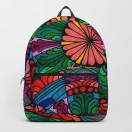 Mandala Daisy Backpack