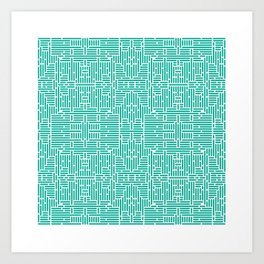 symmetry 6 Art Print