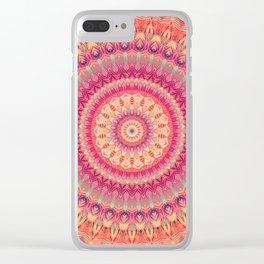 Mandala 344 Clear iPhone Case