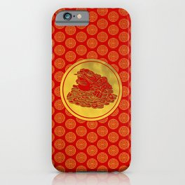Three Legged Lucky Money Frog Feng-shui iPhone Case