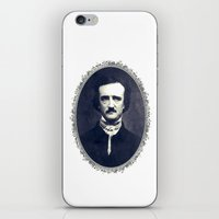 poe iPhone & iPod Skins featuring Poe by fyyff