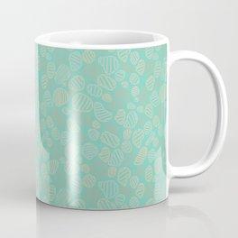Pebble Splash - Aqua Coffee Mug