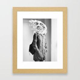 Mind/Blown. Framed Art Print