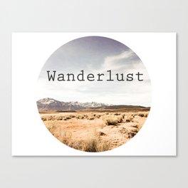 Californian Wanderlust Canvas Print