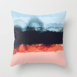 Abstract B4 Throw Pillow