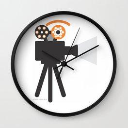 proj.eye.ction Wall Clock