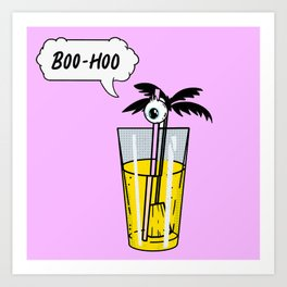 Boo-hoo Art Print