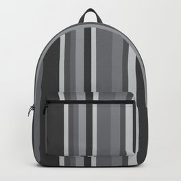 Grey Stripes Backpack