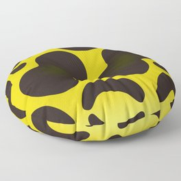 Yellow Anaconda Floor Pillow