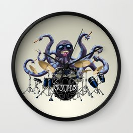 Rocktopus Wall Clock