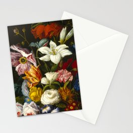 Victorian Bouquet by Severin Roesen Stationery Cards