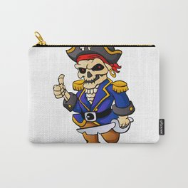 pirate skeleton cartoon. Carry-All Pouch