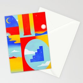 Timeliness  Stationery Cards