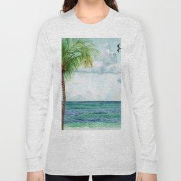 Peaceful Mexico Beach Long Sleeve T-shirt