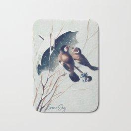Snow Day - Goldfinch Bath Mat