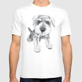 Schnozz the Schnauzer T-shirt