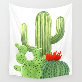 Perfect Cactus Bunch Wall Tapestry