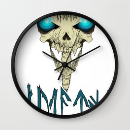 Death To The Living! Wall Clock