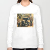 the godfather Long Sleeve T-shirts featuring The Godfather. Part Two by Miquel Cazanya