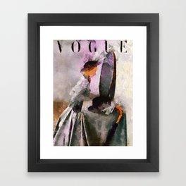 Cover Vogue Framed Art Print