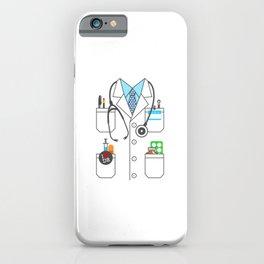 Doctor Costume Lab Coat Cosplay iPhone Case