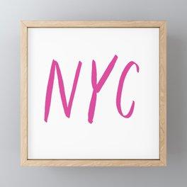 NYC Framed Mini Art Print