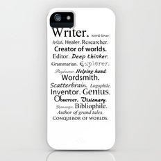 Writer iPhone (5, 5s) Slim Case