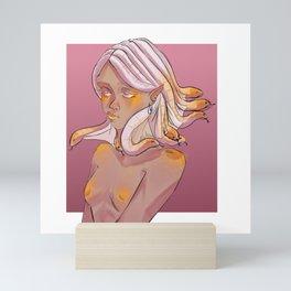 snakehead girl Mini Art Print