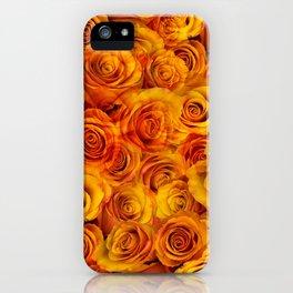 Grenadier Tangerine Roses iPhone Case