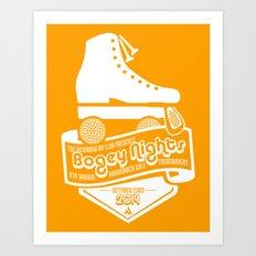 Bogey Nights Art Print