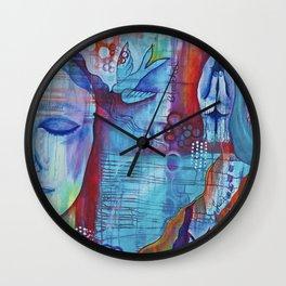 Awaken the Spirit Within Wall Clock