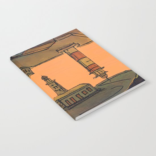 In Love with the Sea / Lighthouses Fuencaliente Notebook