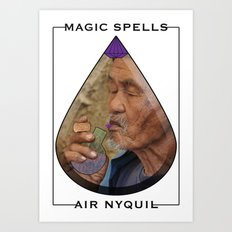Ayahuasca (Magic Spells x Air Nyquil) Art Print