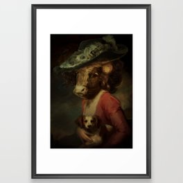 Cow #3 Framed Art Print